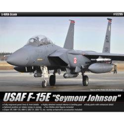 Academy 12295 USAF F-15E Seymour Johnson maqueta escala1/48