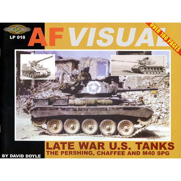 LP018 AFVISUAL: Late war US Tanks
