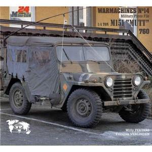 """Warmachines nº14: 1/4 ton M151 Recorrido fotográfico en detalle del """"Mutt"""" incluye diagramas. 24 páginas a color,texto en inglés."""