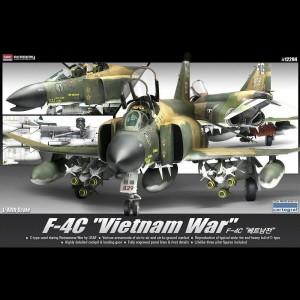 academy 12294 F-4C Phantom II Vietnam War 1/48Kit en plástico para montar y pintar