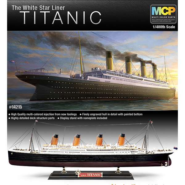 academy 14215 The White Star Liner Titanic