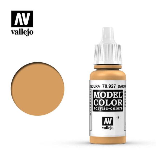 acrylicos vallejo 019 Carne oscura-Dark flesh 70927 17ml Model Color es la gama mas amplia de pinturas acrílicas para Modelismo.