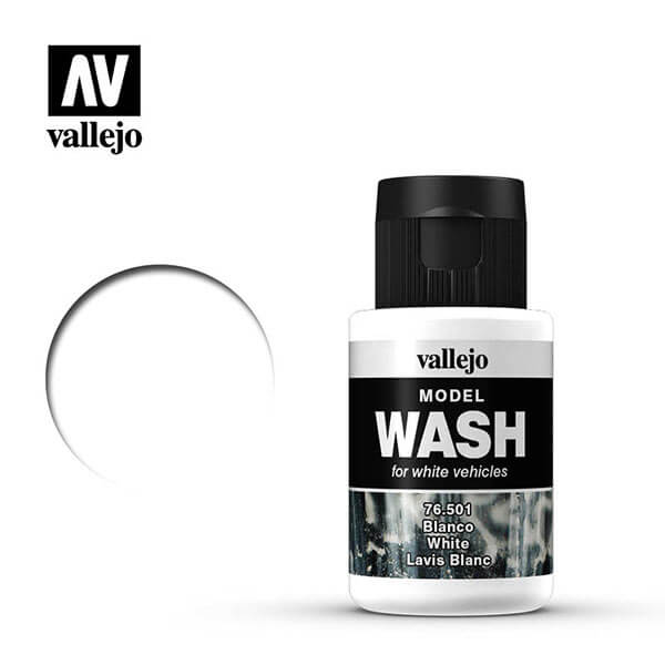 acrylicos vallejo 76501 Model Wash Blanco White 35ml