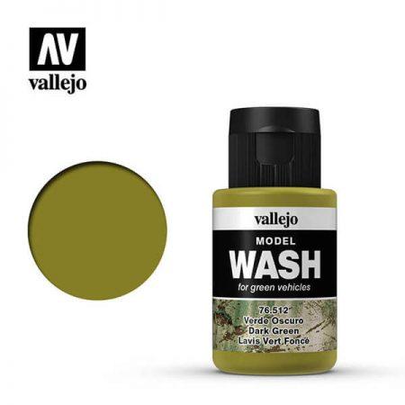 acrylicos vallejo 76512 Verde oscuro Dark green 35ml