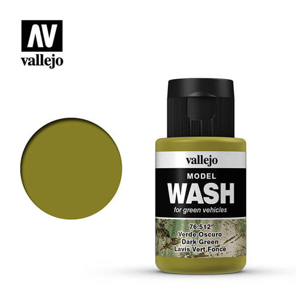 acrylicos vallejo 76512 Verde oscuro Dark green 35ml