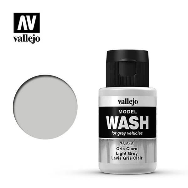 acrylicos vallejo 76515 Model Wash Gris claro Light grey 35ml