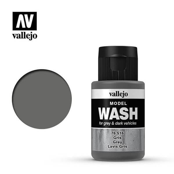 acrylicos vallejo 76516 Model Wash Gris Grey 35ml