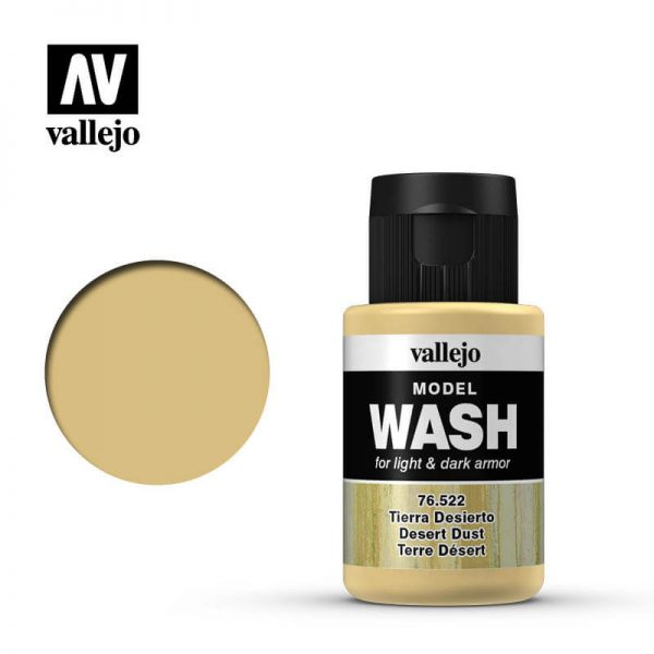 acrylicos vallejo 76522 Model Wash Desert Dust Tierra Desierto 35ml