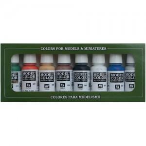 acrylicos vallejo set 8 colores
