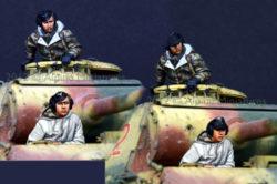 Alpine Miniatures 35132 German Panther Crew set