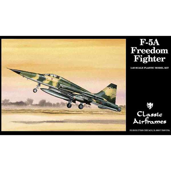 clasic airframes 485 F-5A Freedom Fighter