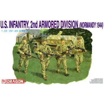 dragon 6120 US Infantry 2nd Armored Division Normandy 1944