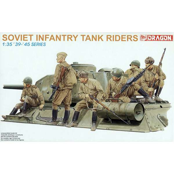 dragon 6197 Soviet Infantry Tank Riders