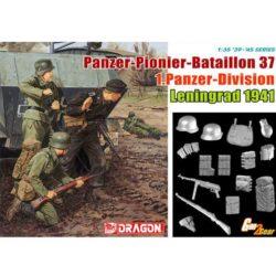 dragon 6651 Panzer-Pioner Bataillon 37 1Panzer Div Leningrad 1941