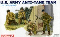 dragon 6149 U.S. Army Anti-Tank Team 1/35 Kit en plástico para montar y pintar. Incluye 4 figuras de infantería americana durante la 2ªGM armados con Bazucas