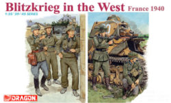 dragon 6347 1/35 Blitzkrieg in the West France 1940 Kit en plástico para montar y pintar. Incluye 5 figuras de soldados alemanes en la invasión de Francia.