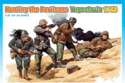 dragon 6491 Hunting the partisans, Yugoslavia 1943 Kit en plástico para montar y pintar. Escala 1/35