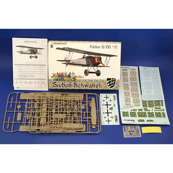 eduard 1139 Fokker D.VII Sieben Scheaben