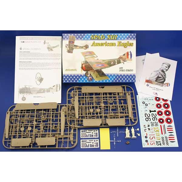 eduard 1142 Spad XIII American Ases Dual combo