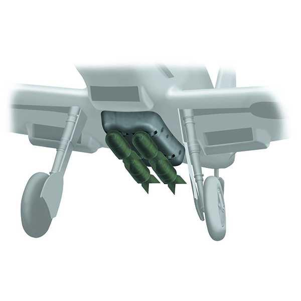 Messerschmitt Bf109 E set de bombas