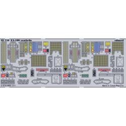 eduard 32733 EA-18G Super Hornet Seatbelts 1/32 Cinturones de seguridad en fotograbado coloreado para el caza EA-18G Super Hornet.
