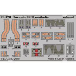 eduard 49528 Seatbelts Tornado ECR 1/48 Cinturones de seguridad en fotograbado coloreado para el Tornado ECR