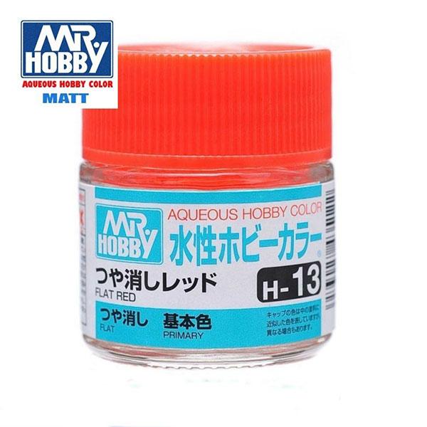 gunze sangyo mr hobby aqueous color H013 Flat Red - Rojo Mate