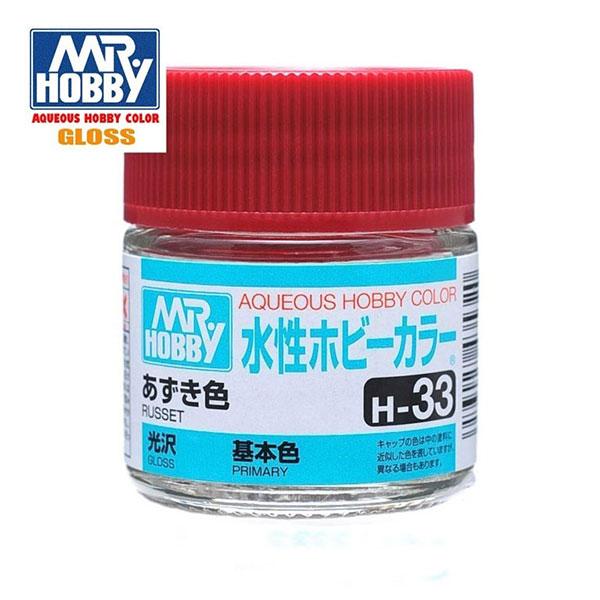 H033 Russet - Marrón Oxido Brillo 10ml