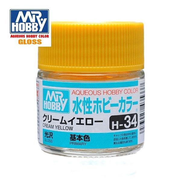 H034 Cream Yellow - Amarillo Crema Brillo 10ml