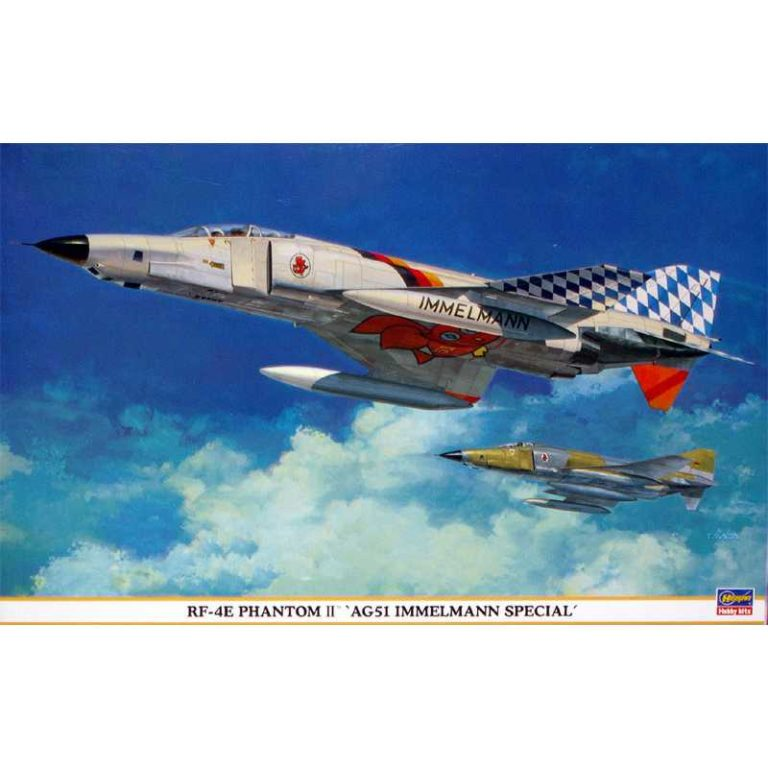 hasegawa 09696 RF-4E Phantom II AG51 Immelmann Special