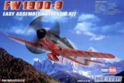 hobby boss 80228 Focke Wulf Fw190D-9 1/72 Kit en plástico para montar y pintar. Hoja de calcas con 2 decoraciones.