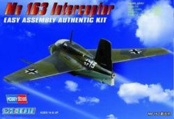 hobby boss 80238 Messerschmitt Me163 KometKit en plástico para montar y pintar.Hoja de calcas con 2 decoraciones: Luftwaffe y RAF.Dimensiones: 81.3 x 125.9 mm