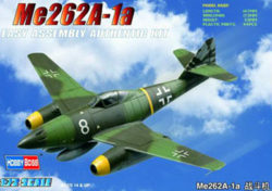 hobby boss 80249 Messerschmitt Me262A-1a 1/72 Kit en plástico para montar y pintar. Hoja de calcas con 2 decoraciones.
