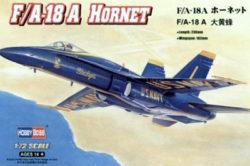 hobby boss 80268 F/A-18A HornetKit en plástico para montar y pintar.
