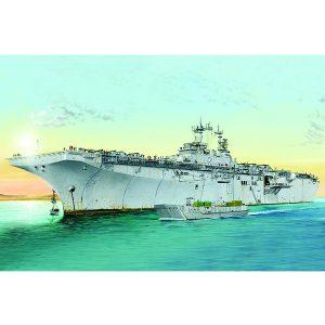 hobby boss 83404 USS Kearsarge LDH 3 1/700 Kit en plástico para montar y pintar. Incluye fotograbados.