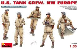 miniart 35070 U.S. Tank Crew NW Europe Escala 1/35
