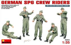 miniart 35054 German SPG Crew Riders escala 1/35
