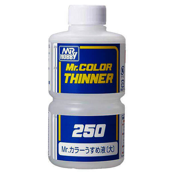 mr hobby Mr Hobby T103 Mr Color Thinner 250ml Diluyente para laca.
