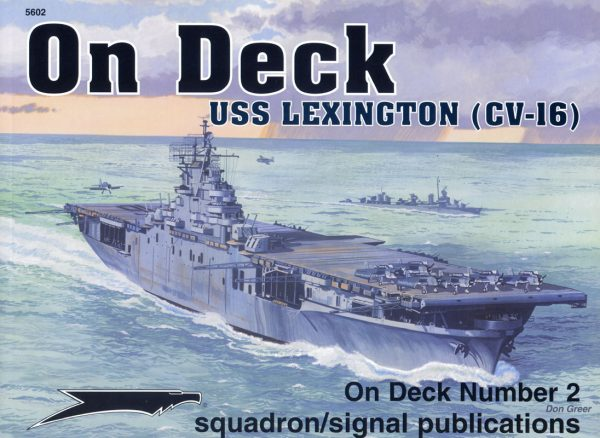 On Deck US Lexington CV-16