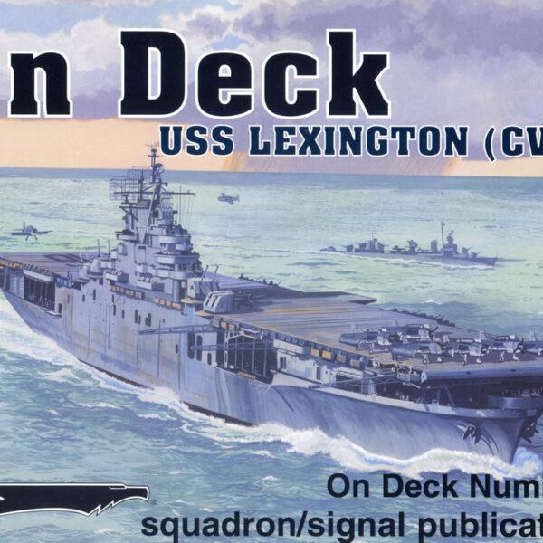 On Deck US Lexington CV-16