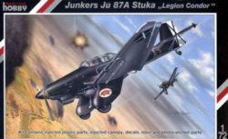 special hobbies 72123 Junkers Ju87A Stuka -Legion Condor- 1/72 Kit en plástico para montar y pintar. Incluye piezas en fotograbado.