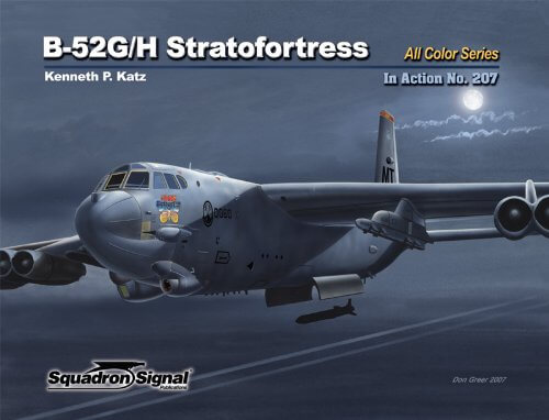 1207 B-52G/H Stratofortress in action