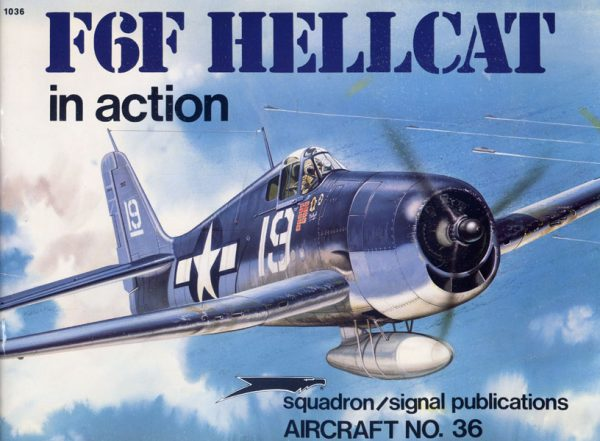 sq1036 F6F Hellcat in action