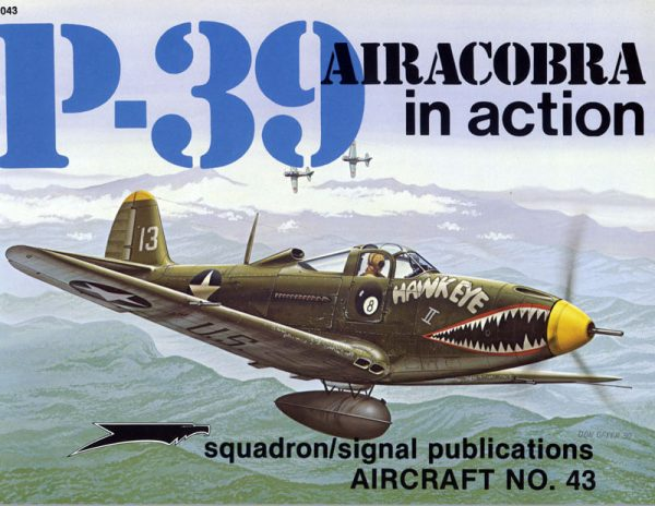sq1043 P-39 Airacobra in action
