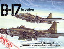 sq1063 B-17 in action