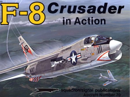 sq1070 F-8 Crusader in action