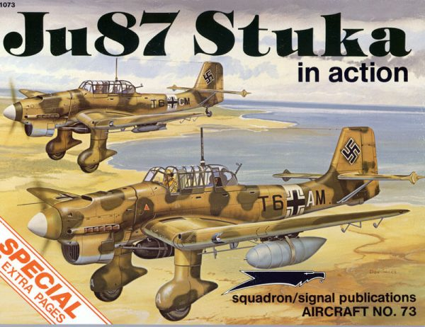 sq1073 Ju87 Stuka in action