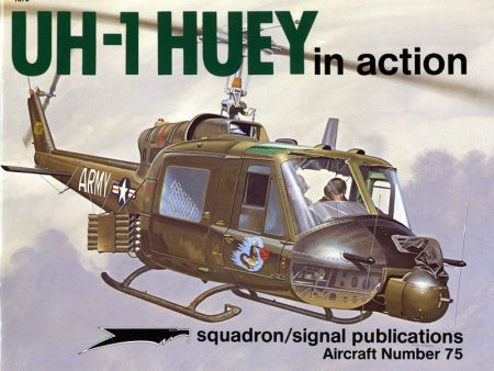 sq1075 UH-1 Huey in action