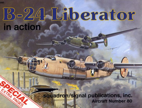 sq1080 B-24 Liberator in action