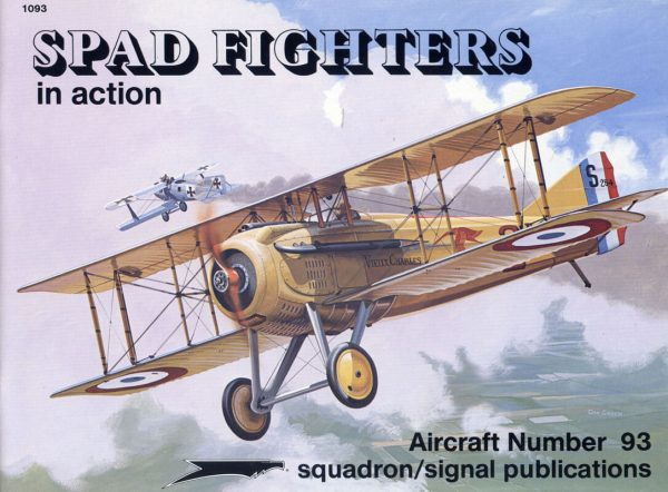 sq1093 Spad Fighters in action